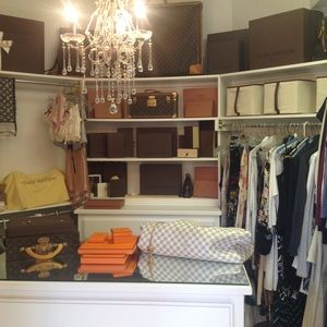 A LOOK INSIDE THE CLOSET - NOT FOR SALE